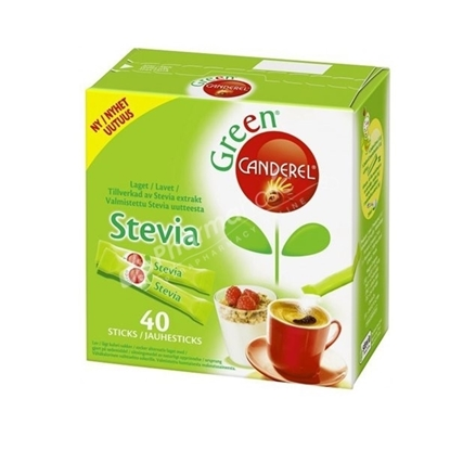 Picture of Canderel Green Stevia Sticks 40ms
