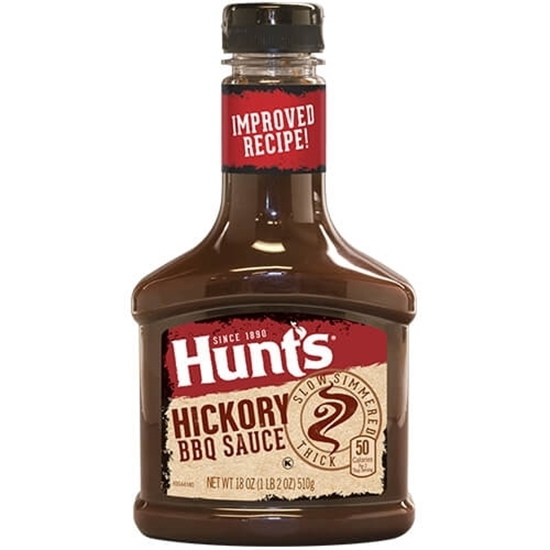 Picture of Hunt's BBQ Sauce Hickory 21.6 OZ 612 G