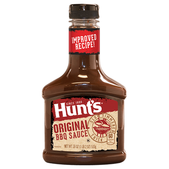 Picture of Hunt's BBQ Sauce Original 21.6 OZ 612G