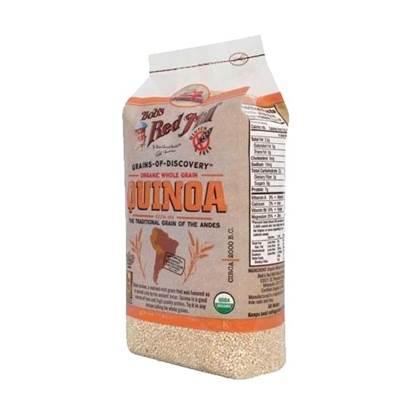 Picture of Organic White Quinoa Grain 25 LB (GLUTEN FREE)