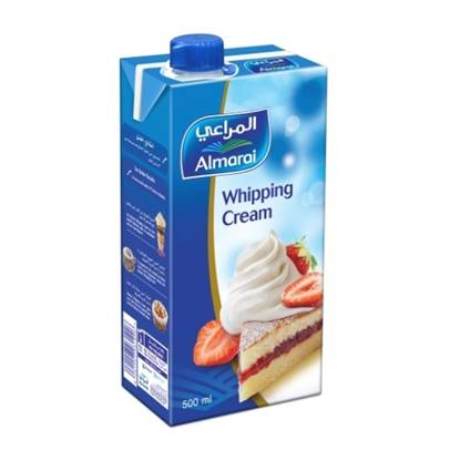 Picture of ALMARAI WHIPPING CREAM 500ML (CB6) SCREWCAP