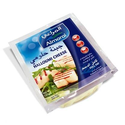 Picture of ALMARAI HALLOUMI FULL FAT CHEESE 225G (1X38)