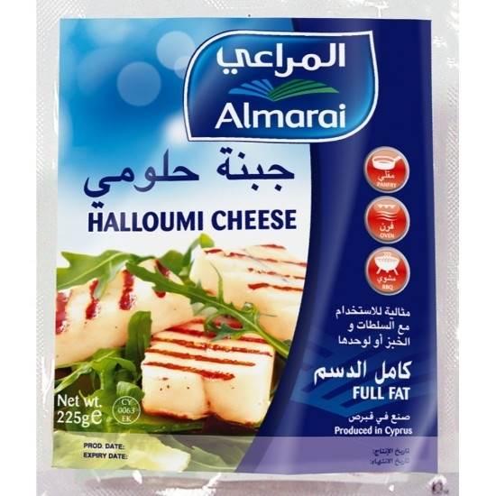Picture of ALMARAI HALLOUMI FULL FAT CHEESE 225G (1X38)