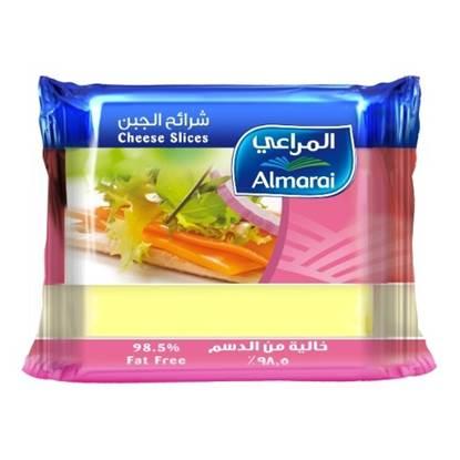 Picture of ALMARAI SLICES CHEESE  FAT FREE 200G (1X12)