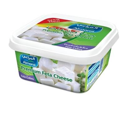 Picture of ALMARAI FETA CHEESE PREMIUM TUB CUBES 200G (1X40)