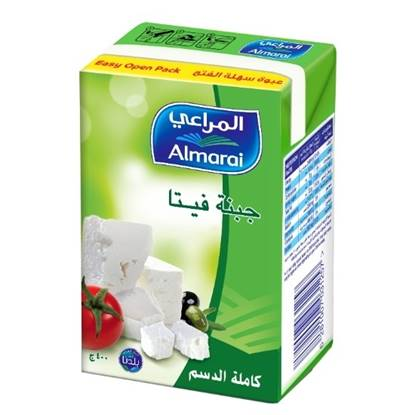 Picture of ALMARAI FETA FULL FAT 400G (CB6) EASY OPEN