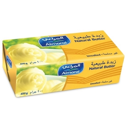Picture of BUTTER UNSALTED NATURAL 400G (1X20)