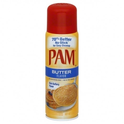 Picture of Pam Butter Flavor Spray Oil 141g