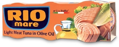 Picture of Rio Mare Light Meat Tuna in Olive Oil x3 80g