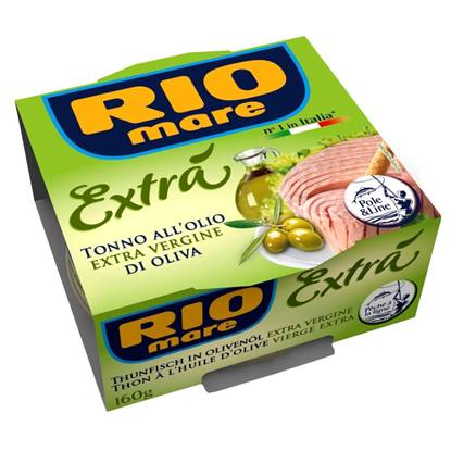 Picture of Rio Mare TUNA IN EXTRA VIRGIN OLIVE Oil 160gm