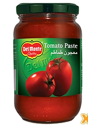 Picture of Del Monte Tomato paste in Glass Jar 380gm