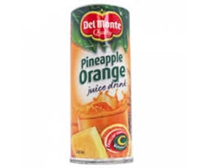الصورة: ديلمونتي شراب الأنانس والبرتقال  240 مل