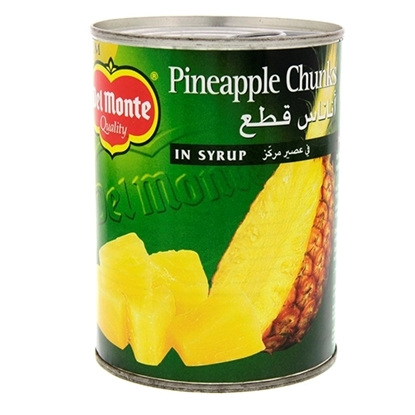 Picture of Del Monte Pineapple Chunks in Syrup 432gm