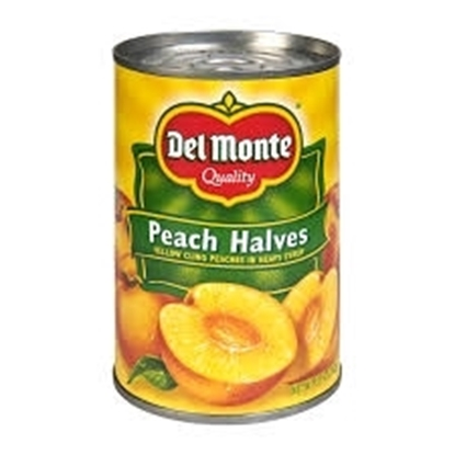 Picture of Del Monte Peach Halves in Syrup 420gm