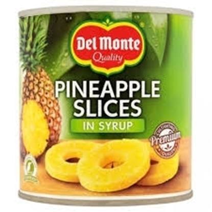 Picture of Del Monte Pineapple Sliced in Syrup 432gm