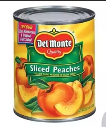 Picture of Del Monte Peach Slices in Syrup 825gm