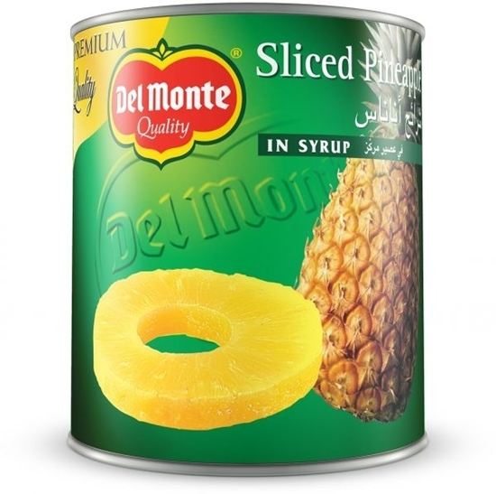 Picture of Del Monte Pineapple Sliced in Syrup 836gm