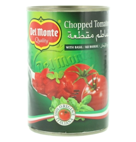 Picture of Del Monte Chopped Tomatoes with Basil 400g