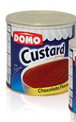 Picture of Domo Custard Powder Chocolate Flavor 340gm
