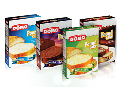 Picture of Domo Pound Cake Vanilla 454gm