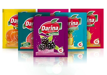 Picture of Darina Instant Drink Sachets Strawberry 35gm