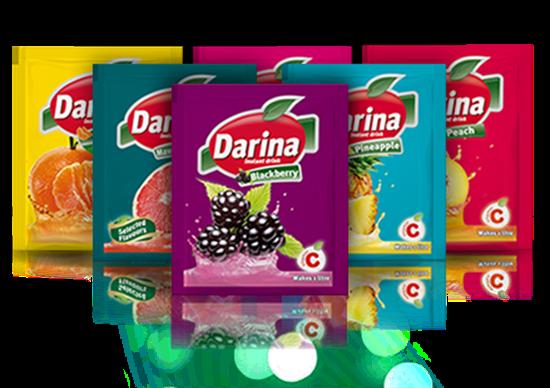 Picture of Darina Instant Drink Sachets Mandarin 35gm