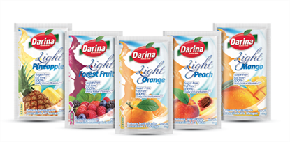 Picture of Darina Instant Drink Sachets Pineapple Light 12gm