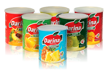 Picture of Darina Instant Drink Tin Strawberry 2.5kg