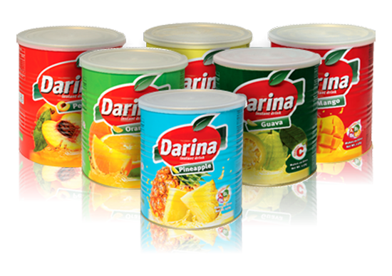 Picture of Darina Instant Drink Tin Pineapple 2.5kg