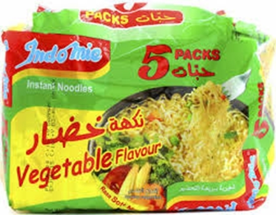 Picture of Indomie Instant Noodles Vegetable 75gm (5 pcs)