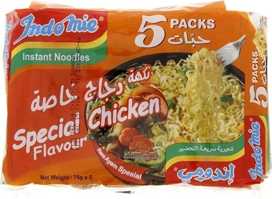 Picture of Indomie Instant Noodles Chicken 70gm (5 pcs)