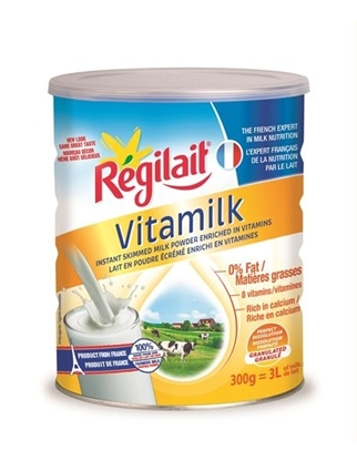 Picture of Regilait Skimmed Milk Powder 0% Fat Rich in Vitamins 300G