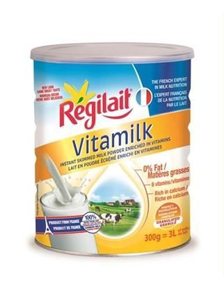 الصورة: ريجيليه حليب بودرة 8 فيتامينات -خال من الدسم 0% دهون 300جم