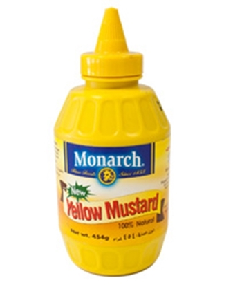 Picture of Monarch Yellow Mustard 454 gm