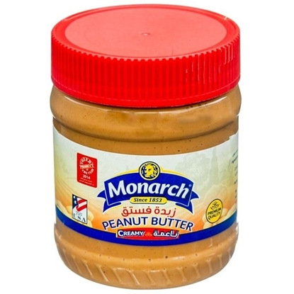 Picture of Monarch Creamy Peanut Butter 340 gm