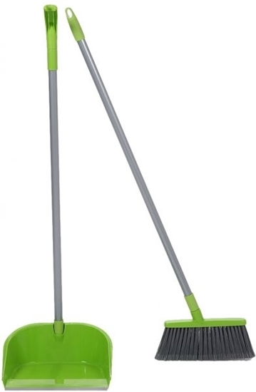 Picture of Scotch Brite DUST PAN AND BROOM WITH HANDLE