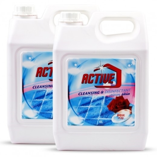 Picture of ACTIVE CL.& DISINFECTANT ROSE 4 LTR