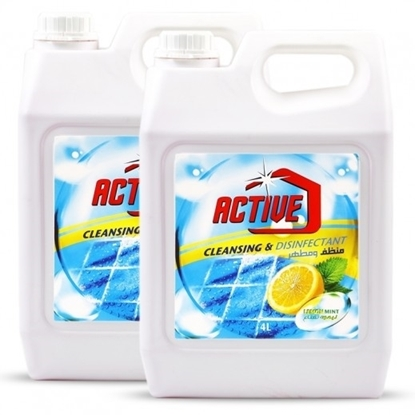 Picture of ACTIVE CL.& DISINFECTANT LEMON MINT 4 LTR