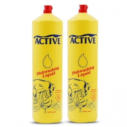 Picture of ACTIVE DISH WASH LIQ. LEMON 1 LTR