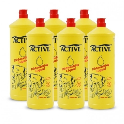Picture of ACTIVE DISH WASH LIQ. LEMON 400ML