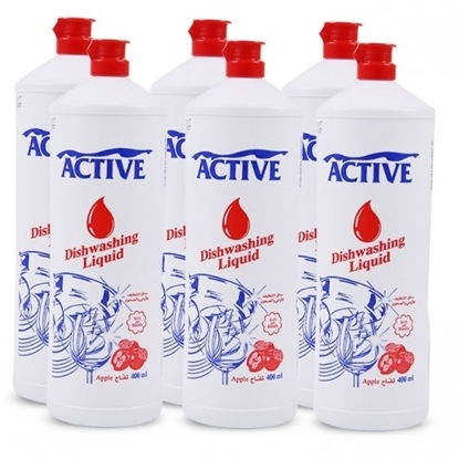 Picture of ACTIVE DISH WASH LIQ. APPLE 400ML