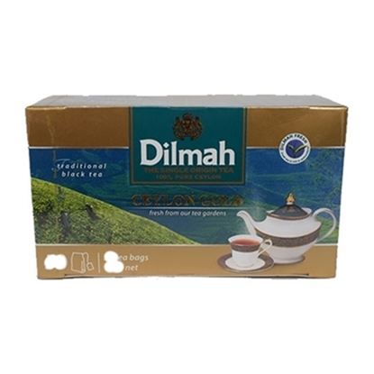 Picture of DILMAH TAG TBAG Envelope 2g Black Tea (500 bag)