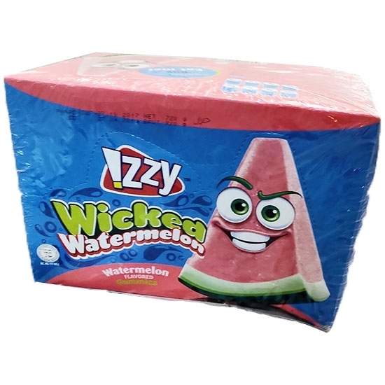Picture of Gummies_IZZY_Wicked Watermelon Display box_Oily _6x24x_30g_