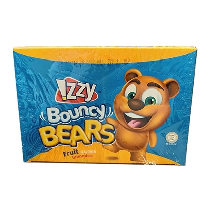 Picture of Gummies_IZZY_Bouncy Bears Display box_Oily _6x24x_30g_
