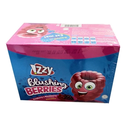 Picture of Gummies_IZZY_Blushing Berries Display box_Oily_12x24x_16g_