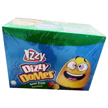 Picture of Gummies_IZZY Dizzy Domes Display box_Oily_12x24x_16g_