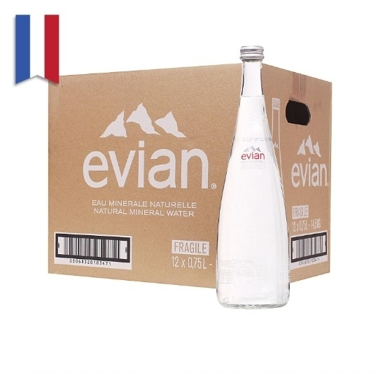 Picture of Evian Mineral Water Glass  750 ml x 12