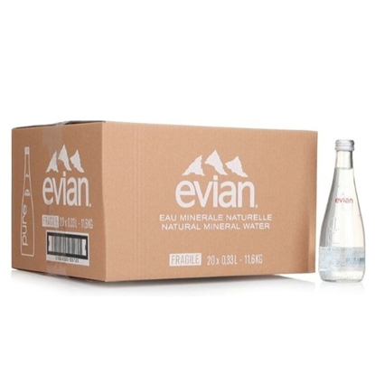 Picture of Evian Mineral Water Glass  330 ml x 20