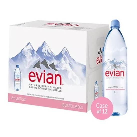 صورة مياه معدنية إفيان 1 لتر × 12 (بريستيج)