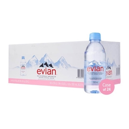 Picture of Evian Mineral Water 330mlx24 ( Prestige)